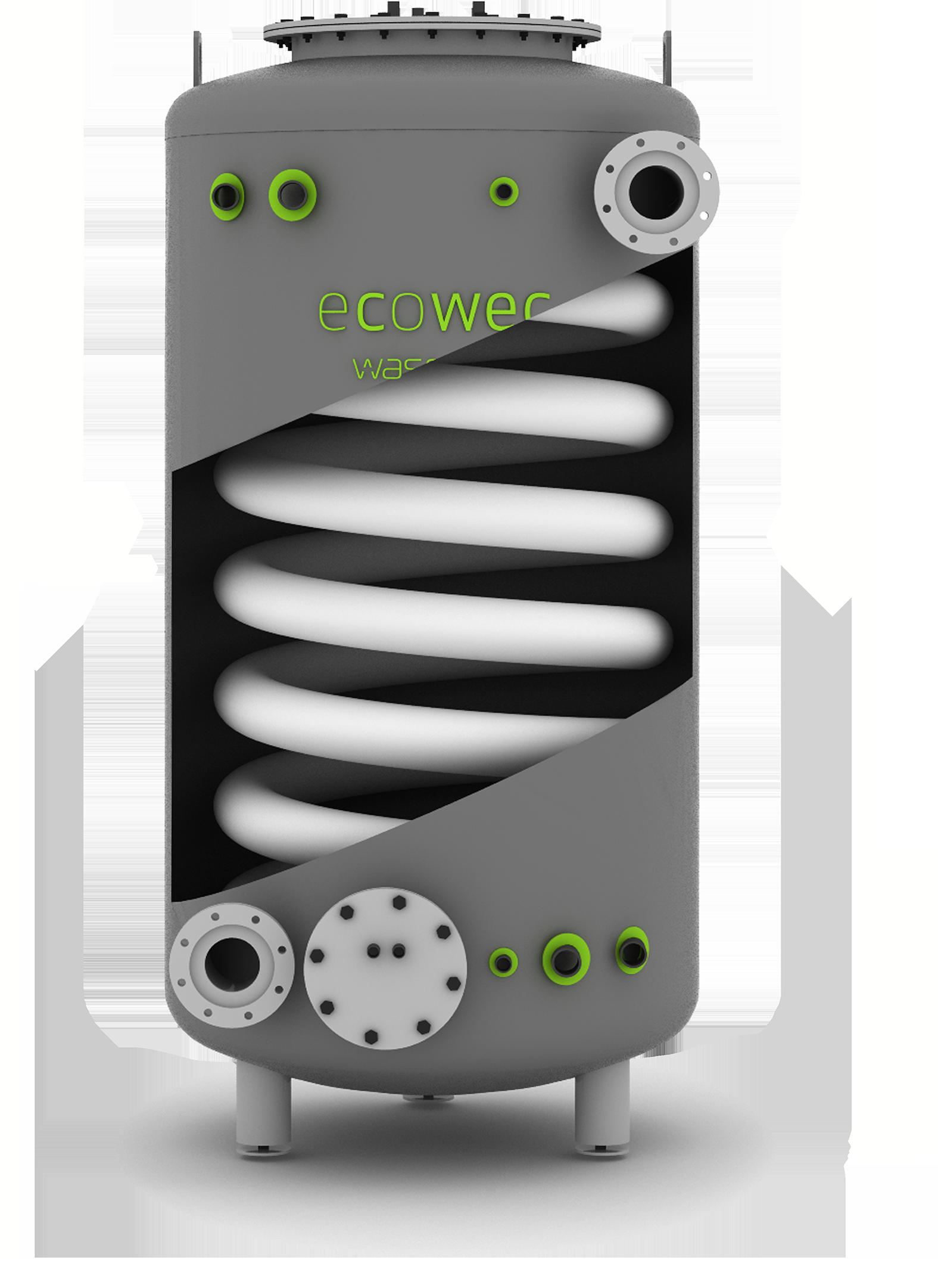 The Ecowec hybrid exchanger Wasenco