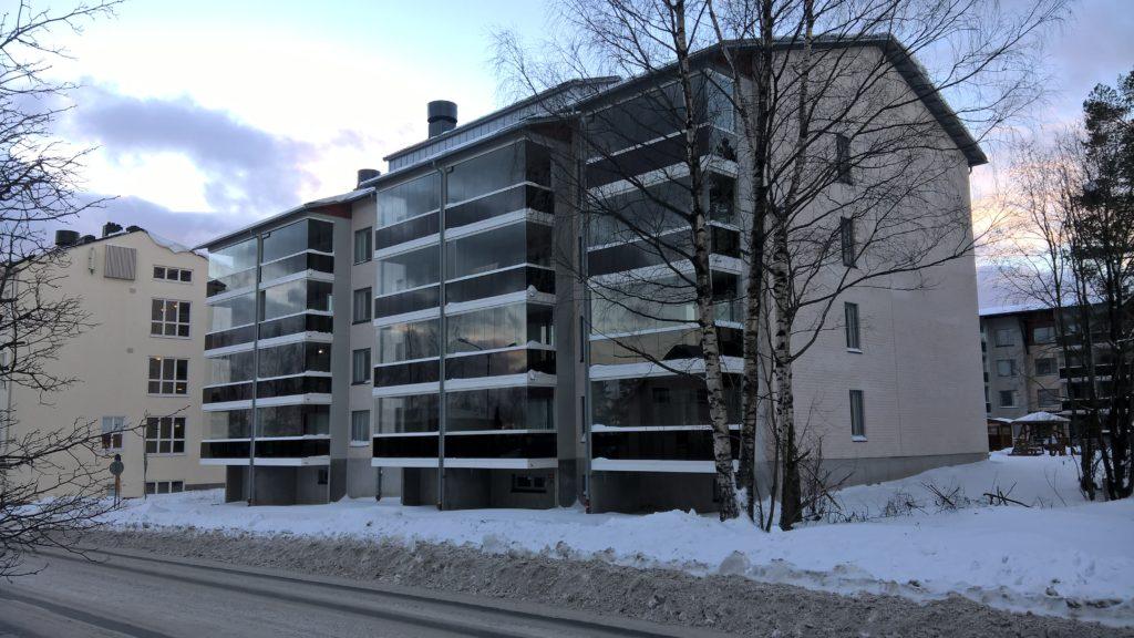 Männistön tukitalo, Kuopio